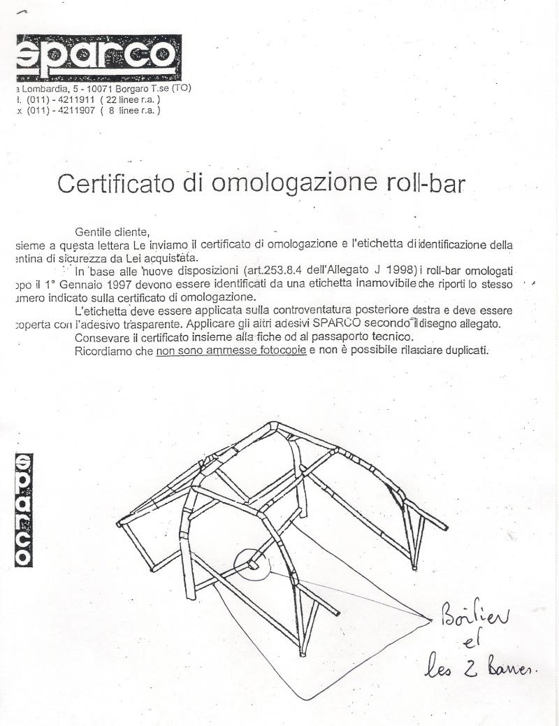 arceau 106 n1 sparco Numari10