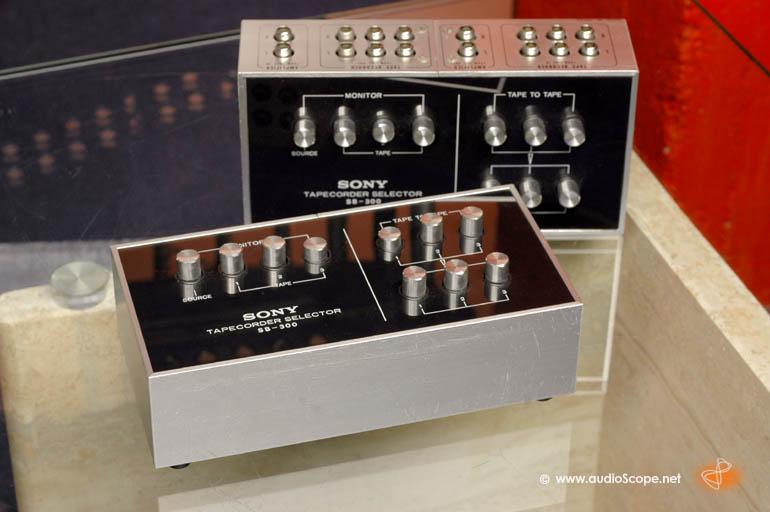Collegare due piastre di registrazione ad un ampli con una solo tape Sonysb10
