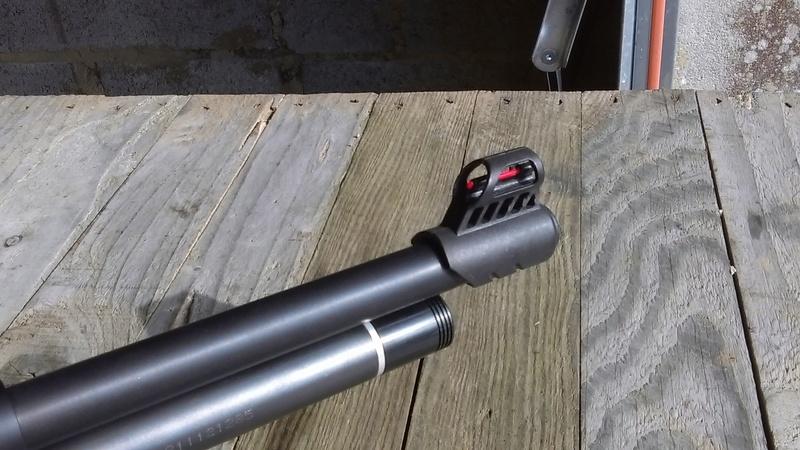 Marauder pistol préparé silhouette métallique  A410