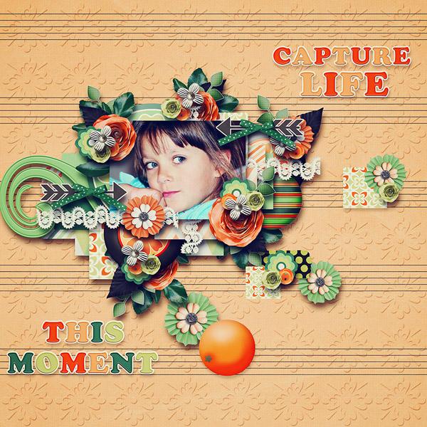 Orange dream Memory Mix at Mscraps - March 7. Tinci_40