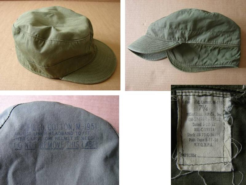 Cap Field Cotton M-1951 Diapos11