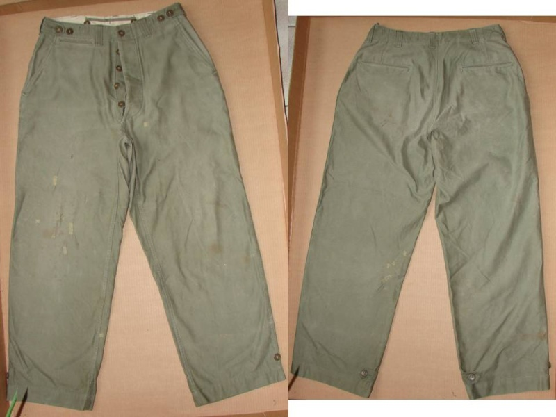 Trousers, field, OD - pantalon M43 Diapos29