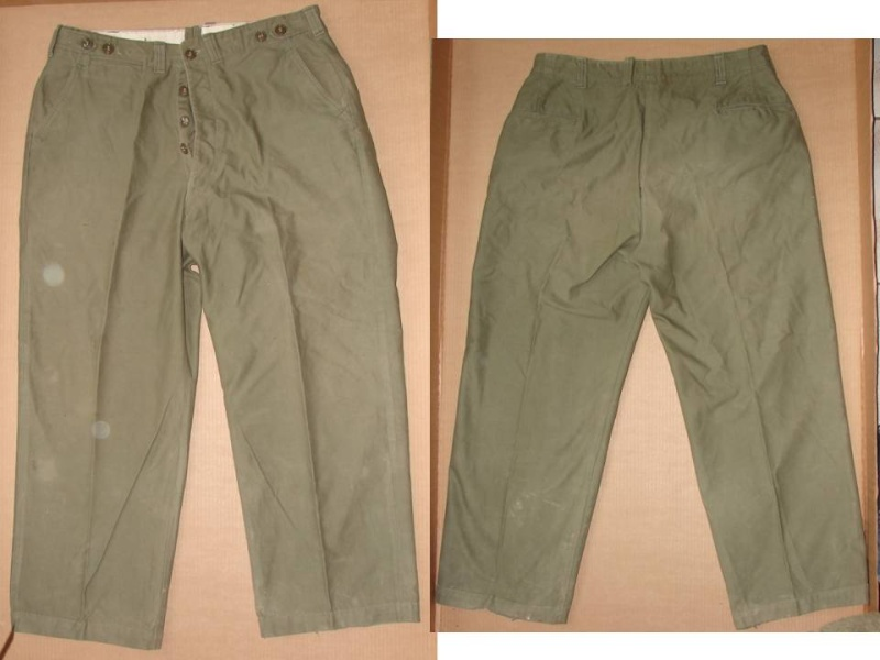 Trousers, field, OD - pantalon M43 Diapos31