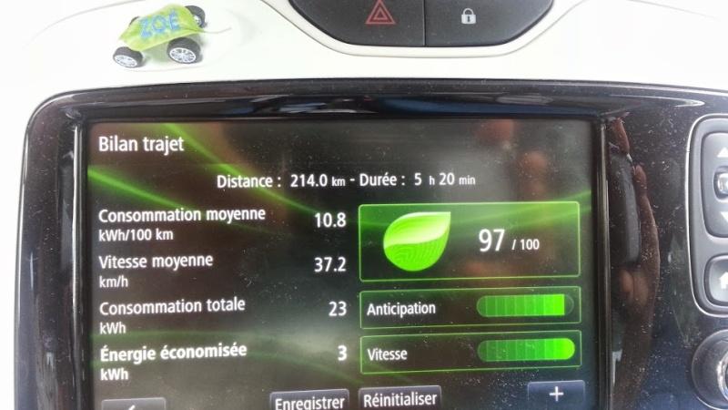 214 km sans recharger ! Mieux que les 210 km en NEDC ! Odbcon10