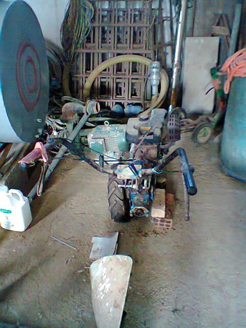 Motofalciatrice BCS con motore Acme, trasformazione!! Foto0024