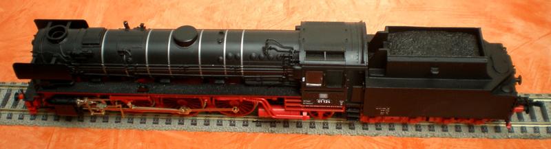 Neubaukessel BR 01 mit Kurztender 2'2T30 - Spur HO 01_12415