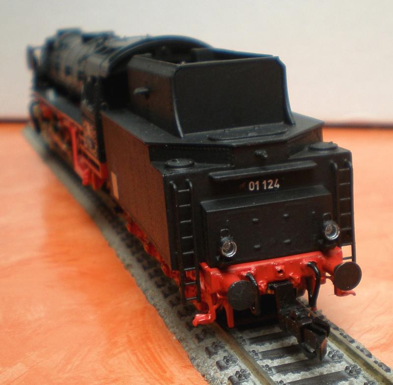 Neubaukessel BR 01 mit Kurztender 2'2T30 - Spur HO 01_12417