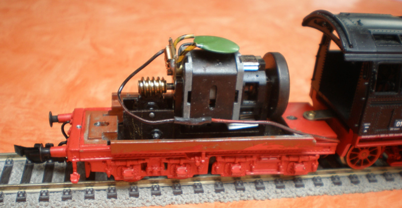 Neubaukessel BR 01 mit Kurztender 2'2T30 - Spur HO 01_12419
