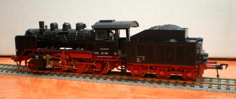 Das Steppenpferd - die BR 24 24_210