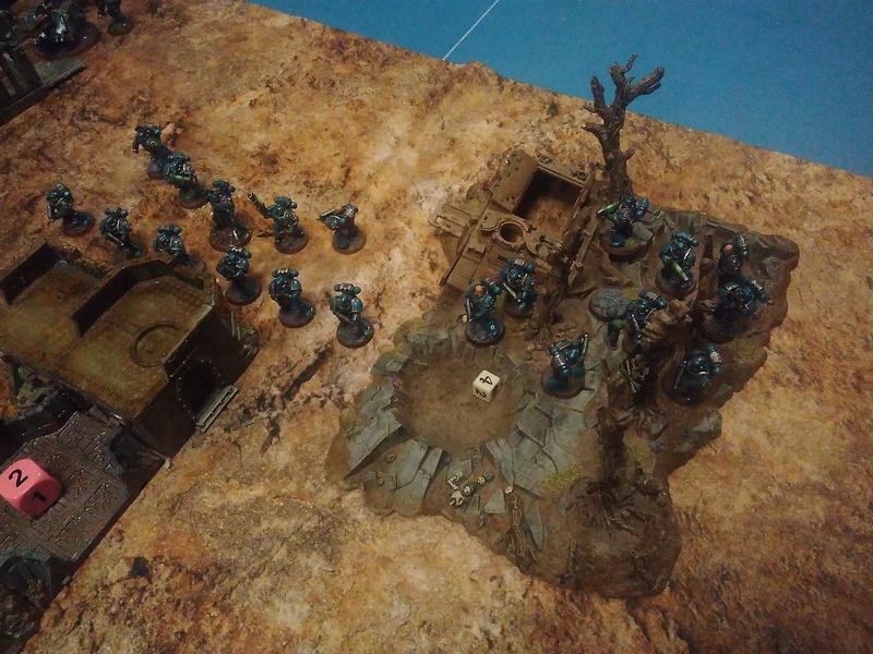Rapport de bataille du 08/04/2017 - Thousand Sons VS Alpha Legion Img_2033
