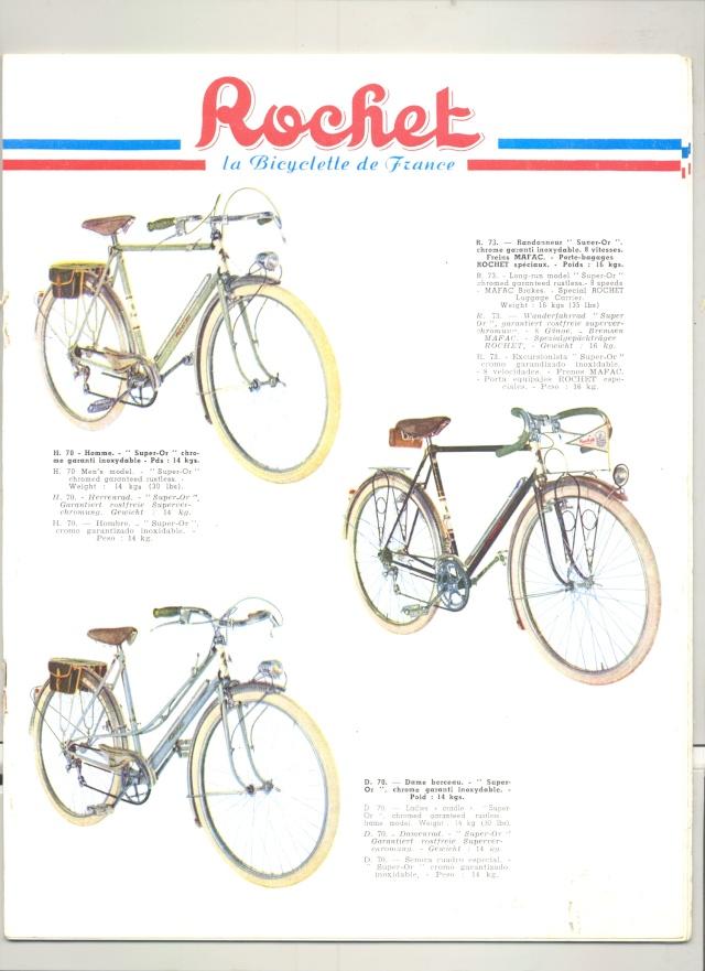 """ROCHET """"randonneuse"""" 1954-60 650 B  4v simplex  Rochet11"""