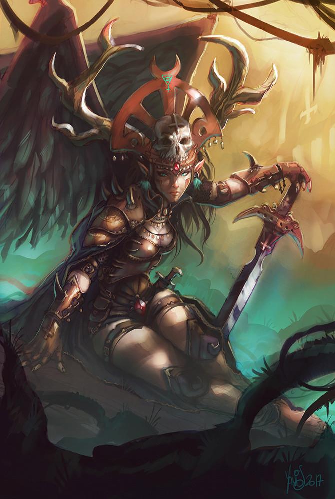 Digital painting de Traaw : Digit en vrac - Page 10 Deatha10