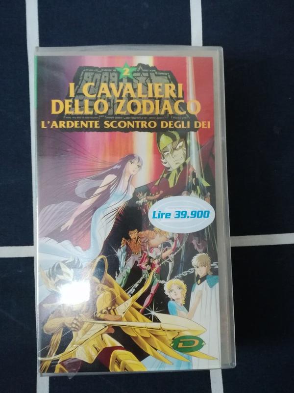 vhs cavalieri dello zodiaco nuova  Cavali10