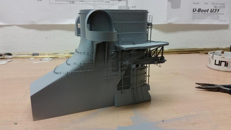 Bau der Bismarck in 1:100  - Seite 10 20170614