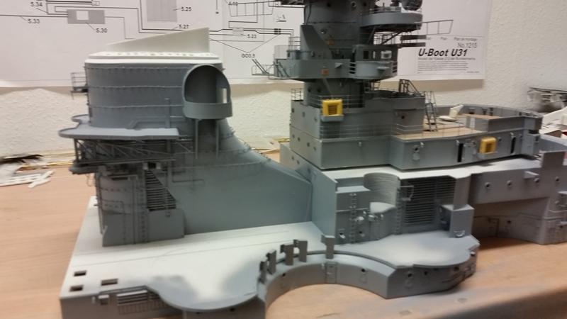 Bau der Bismarck in 1:100  - Seite 10 20170620