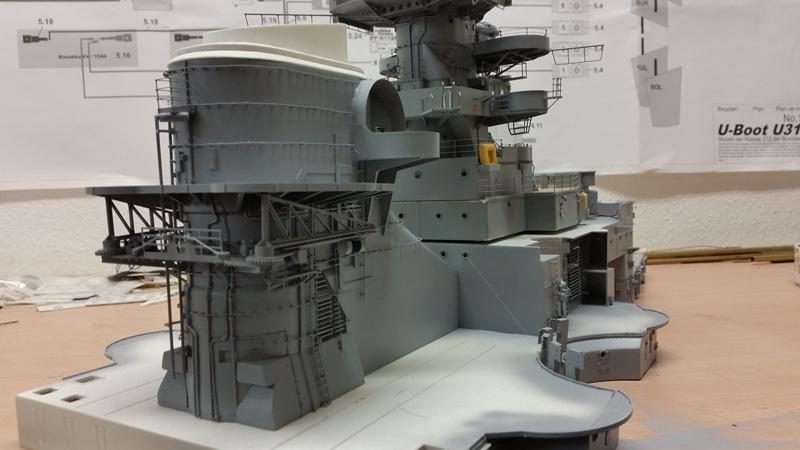 Bau der Bismarck in 1:100  - Seite 10 20170622