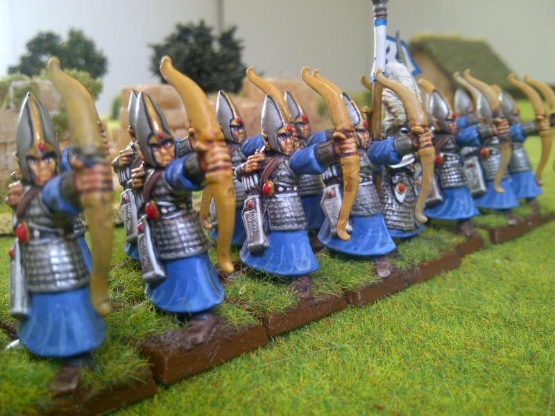 Haut elfes Warhammer Archer11