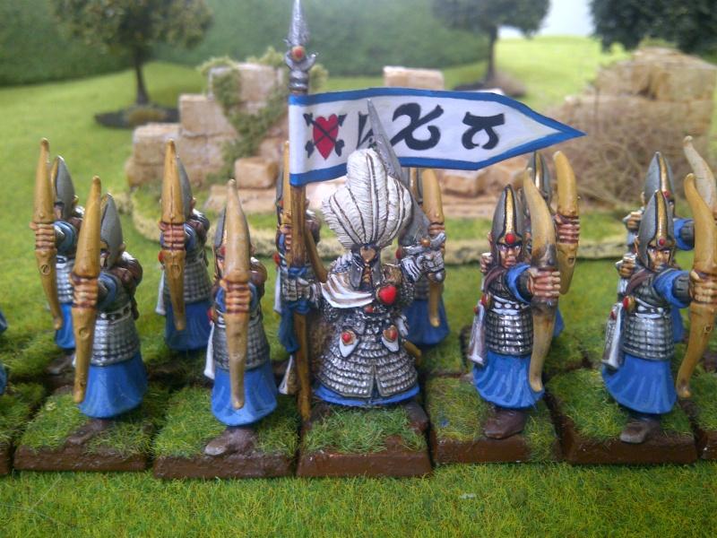 Haut elfes Warhammer Archer12