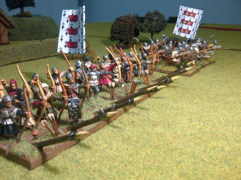 Fantassins Guerre de Cent ans / bretonniens WFB Ensemb10