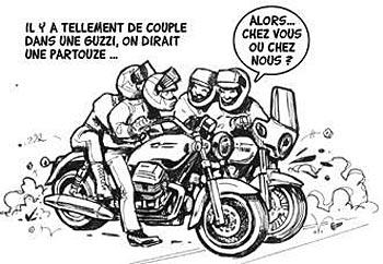 Ce que dit la loi sur les sorties en moto en groupe   Humour11