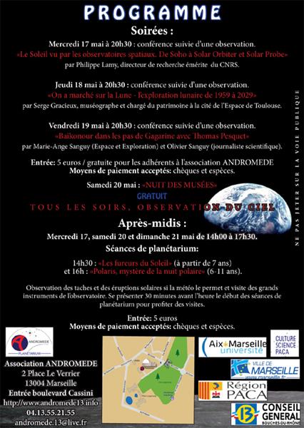 Marseille - Semaine de l'Astronautique Sem-as13