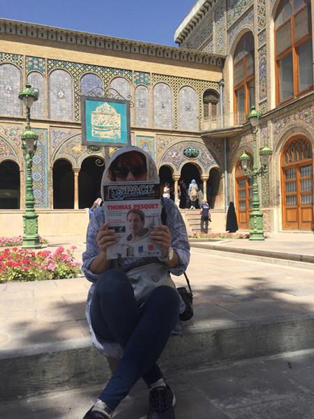 Photographiez votre magazine dans le monde ! Tehera12