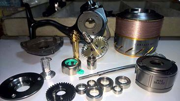 [manutenzione mulinelli] bobina fissa-rotante anche mag sealed 17190610