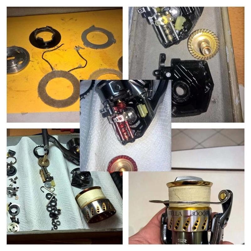 [manutenzione mulinelli] bobina fissa-rotante anche mag sealed Stella10