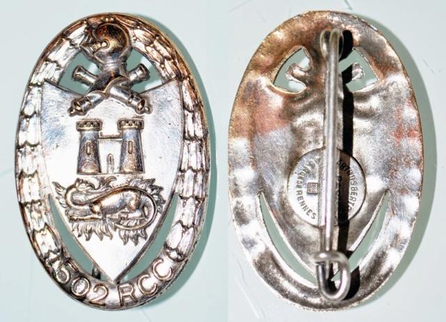 Insigne du 502ème Régiment de Chars de Combat d'Angoulême -ES  SEPT1 [TERMINEE] Insign17