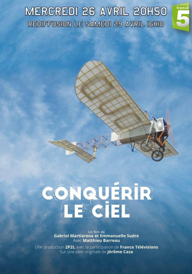 """""""Conquérir le ciel"""" mercredi 26 Avril à 20h50 sur France 5  Conque10"""