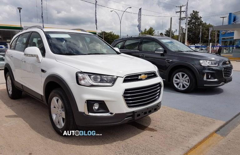 Nuevo restyling Chevrolet Captiva para Sudamérica Chevro10