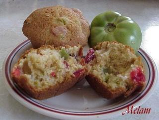 Gâteau ou muffins (24) aux tomates vertes Muffin13