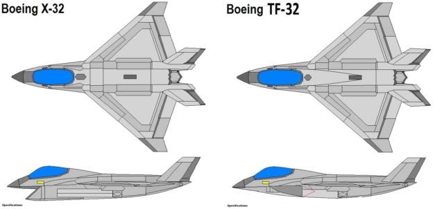 TF-32 de l'école des pilotes de test de la US Navy Boeing10