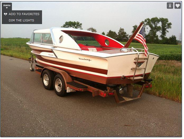 Century Coronado 1959 speedboat Corona13
