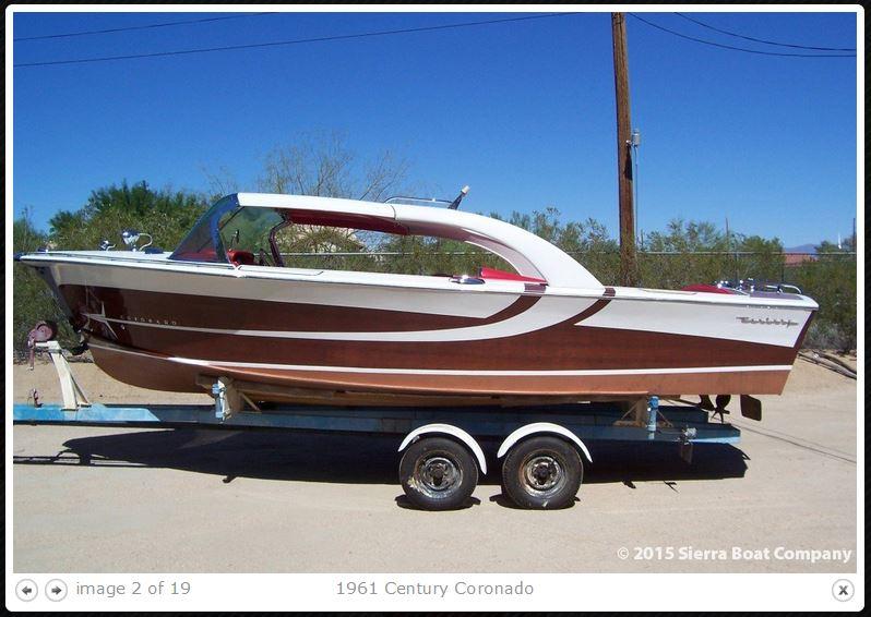 Century Coronado 1959 speedboat Corona14