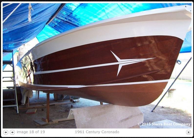 Century Coronado 1959 speedboat Corona18