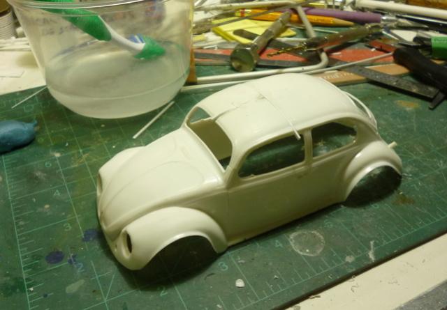 VW Beetle custom chop top Custom12
