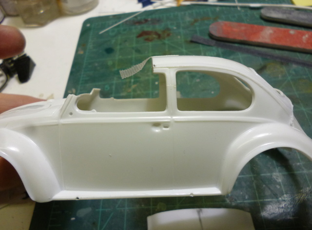 VW Beetle custom chop top Custom13