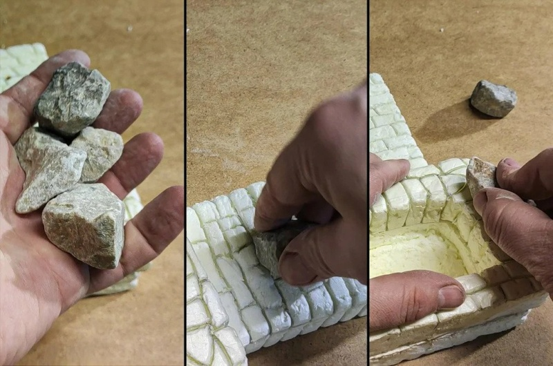 Frabiquer un mur, ou un foyer, en styrofoam Ezgif-11