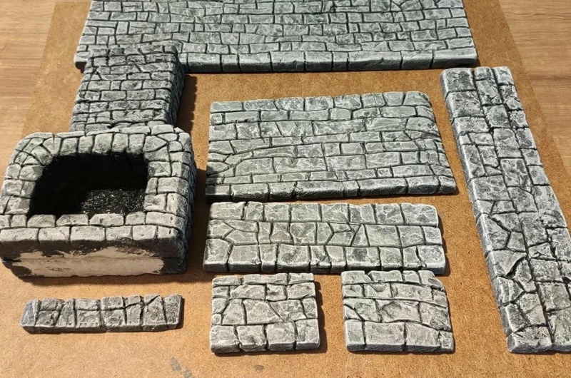 Frabiquer un mur, ou un foyer, en styrofoam Ezgif-12
