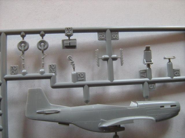 Platz 1/144 Mustang P-51D Mustan14