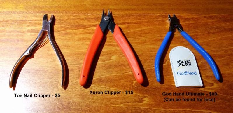 Exemples d'outils utilisés. Outils11