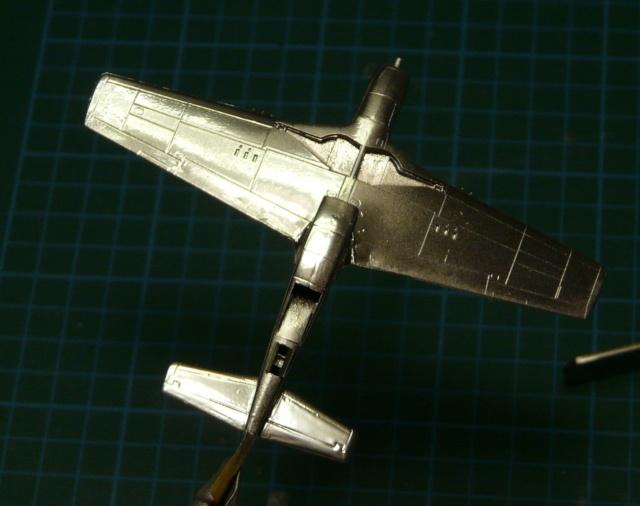 Platz 1/144 Mustang P-51D P1020410