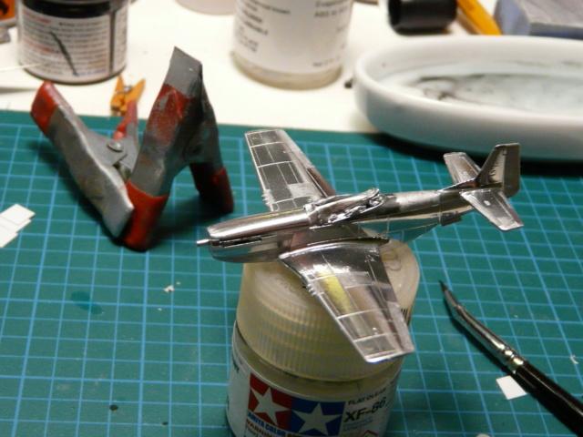 Platz 1/144 Mustang P-51D P1020417