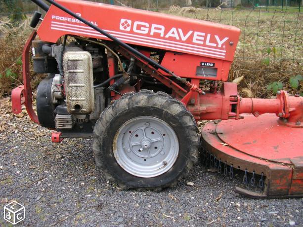 gravely - Problème Gravely Gravel14