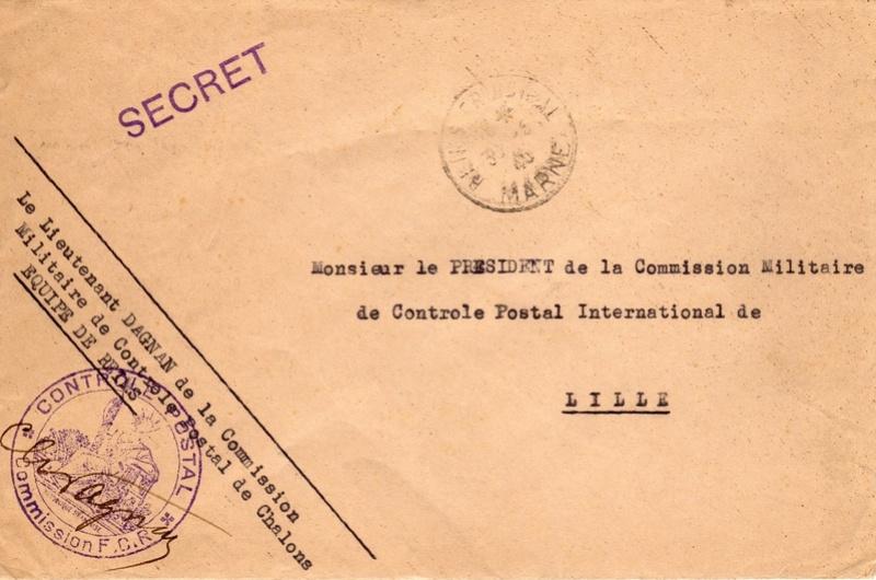 1940 commission de contrôle postale de Châlons - équipe de Reims 1940_c11