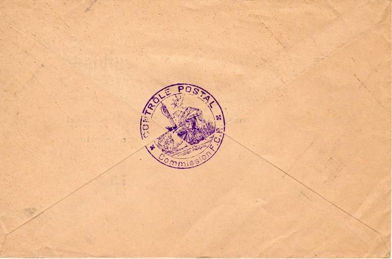 1940 commission de contrôle postale de Châlons - équipe de Reims 1940_c12