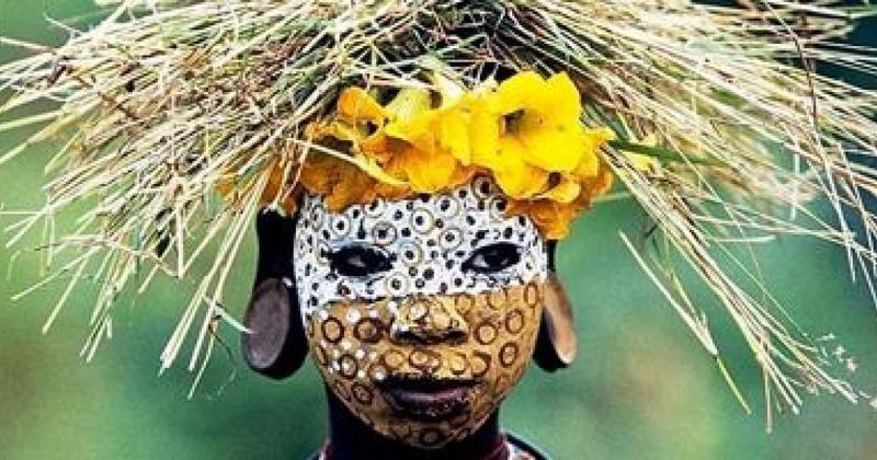 Les peuples de l'omo - Hans Silvester Les-pe10