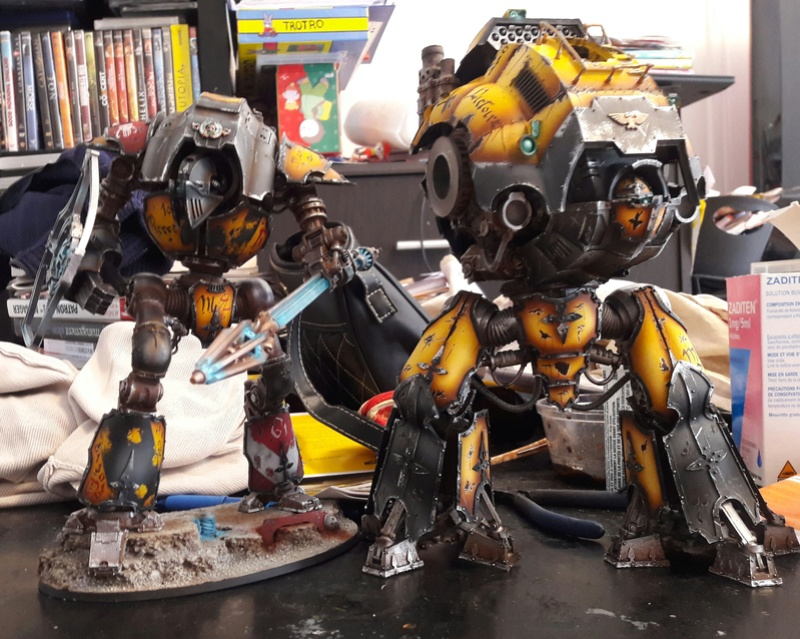 Iron hands, chevaliers, legion cybernetica et maintenant titan warlord  - Page 2 20170412