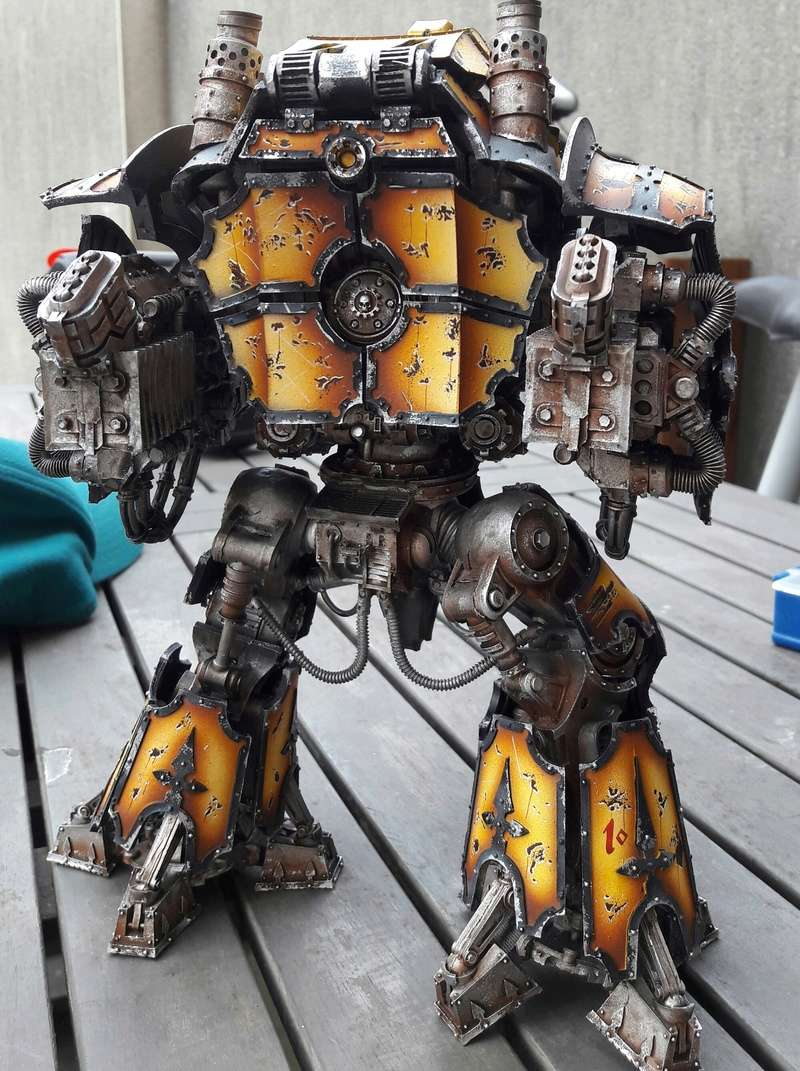 Iron hands, chevaliers, legion cybernetica et maintenant titan warlord  - Page 3 20170415